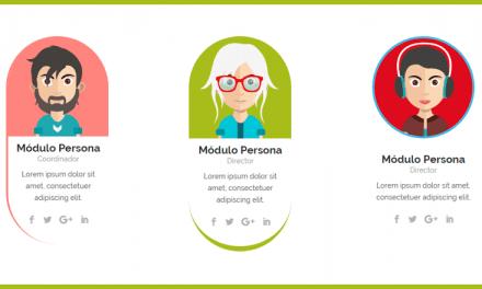 Crear efectos con CSS y Divi. Personalizar y animar el módulo persona de Divi.