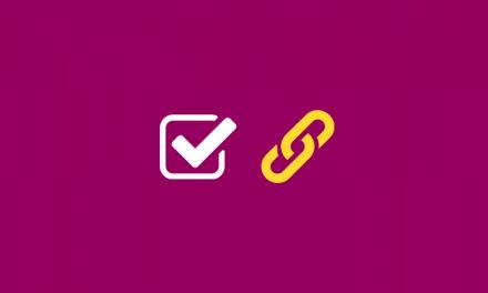 Crear un enlace en una casilla de verificación de un formulario Divi