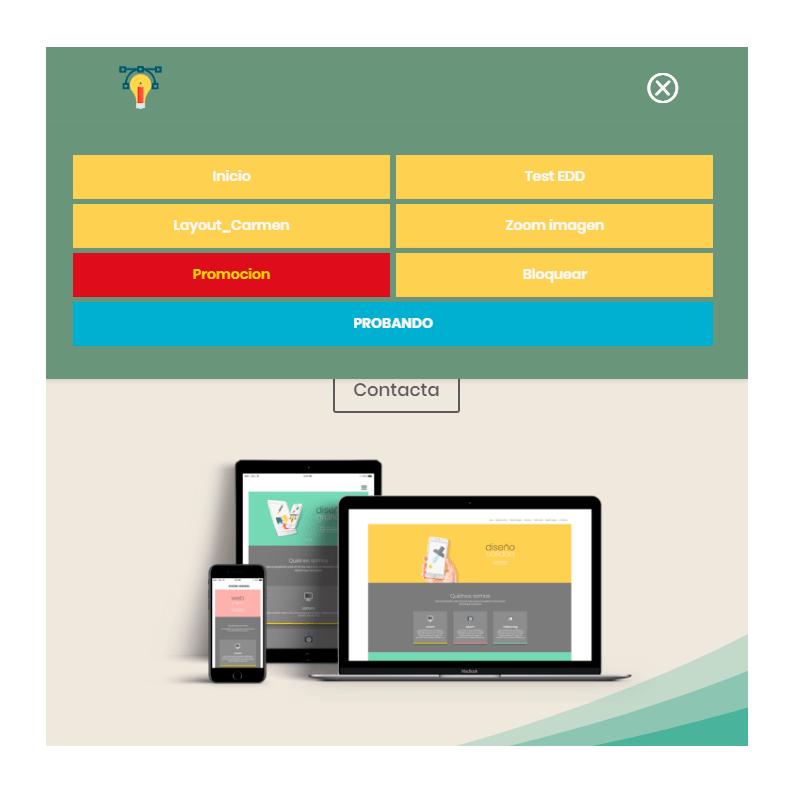 Personalizar el menu móvil en Divi-final