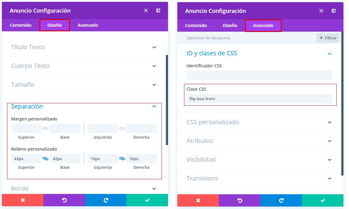 ajustes-modulo-flipCard-divi
